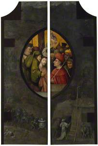 The Mocking of Christ (Verso)