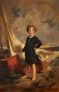 Lady Mairi Stewart, later Lady Mairi Bury (1921–2009), as a girl