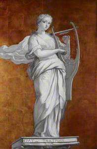 Erato the Muse of Lyric and Love Poetry