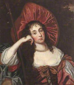 Barbara Villiers, Countess of Castlemaine and Duchess of Cleveland (1640–1709) as a Shepherdess (aft