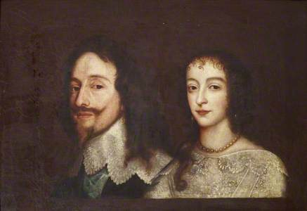 King Charles I (1600–1649) and Queen Henrietta Maria (1609–1669)