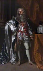 James Butler, 1st Duke of Ormonde KG (1610–1688), in Garter Robes