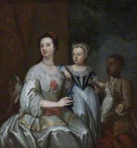 Lady Grace Carteret, Countess of Dysart (1713–1755) with a Child (? Lady Frances Tollemache [1738–18