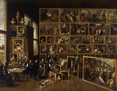 The Archduke Leopold Wilhelm of Austria's (1614–1662) Gallery