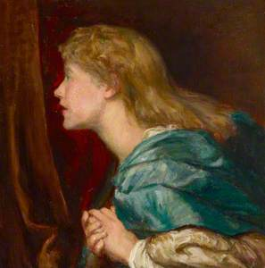 Dame Ellen Terry (1847–1928) as a Young Woman (after George Frederick Watts) (after original of 1864