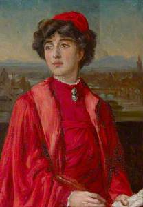 Lady Victoria 'Vita' Mary Sackville-West, Lady Nicholson (1892–1962) in Dame Ellen Terry's Costume f