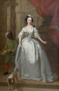 Mary Helden (1726–1766) with Her Black Page
