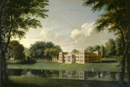 The Vyne from North-West