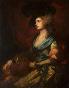 Sarah Siddons (after Gainsborough)