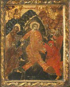 Christ at the Tomb with Saint Mary Magdalen and Saint John