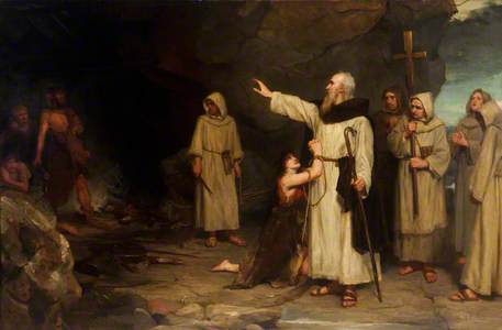 Saint Columba Rescuing a Captive