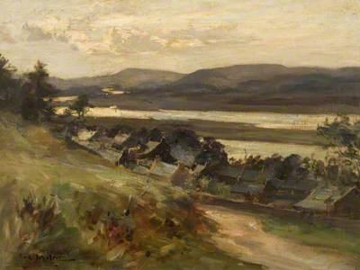 Mugdrum Island from above Newburgh
