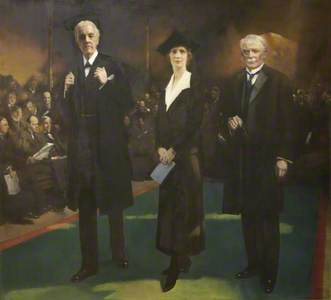 Introduction of Lady Astor as the First Woman MP