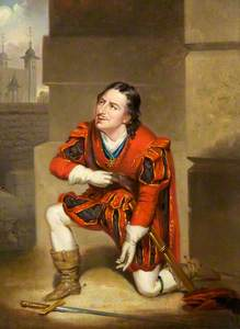 Edmund Kean as Gloucester in Richard III by William Shakespeare (copy after George Clint)