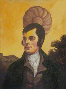 Robert Burns with Shortcake Biscuit