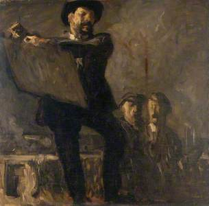 Self Portrait with Miners
