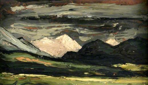 Snowdon from near Harlech