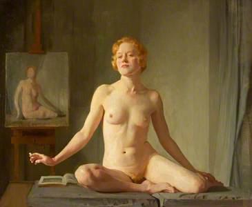 D.D.V. (a); Nude Study;The Little Model; Petite modèle Anglaise