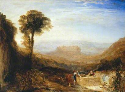 View of Orvieto, Painted in Rome
