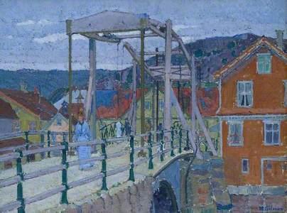 Canal Bridge, Flekkefjord
