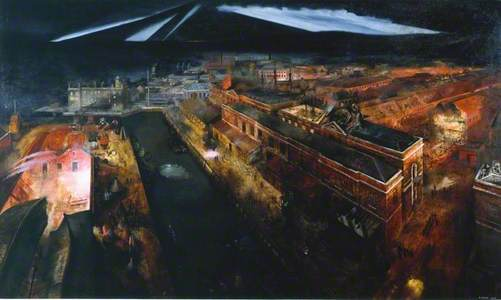 Night Raid on Portsmouth Docks