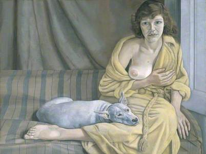 Girl with a White Dog
