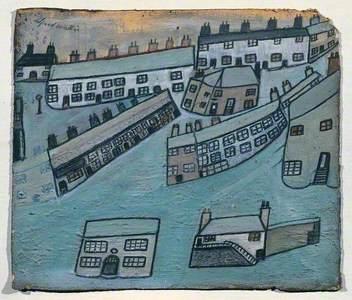 Houses at St Ives, Cornwall
