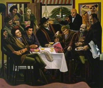 The Vorticists at the Restaurant de la Tour Eiffel: Spring, 1915
