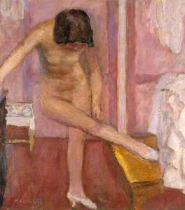 Nude Bending Down (Femme nue se baissant)