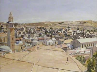 Jerusalem, Looking to Mount Scopus