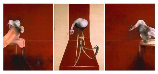 Second Version of Triptych 1944