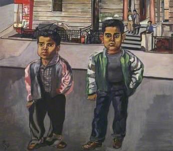 Dominican Boys on 108th Street