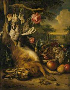 Dead Hare and Still Life