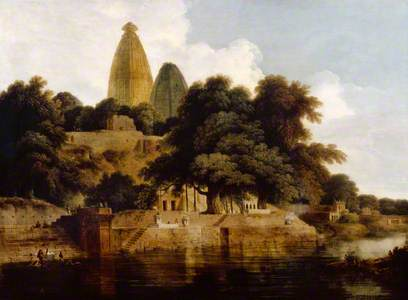 Hindoo Temples at Bindrabund, East Indies