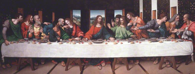 The Last Supper (copy after Leonardo)