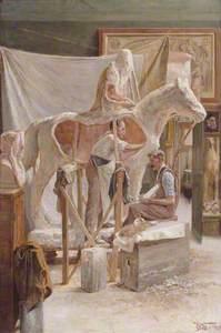 A. G. Walker's Studio