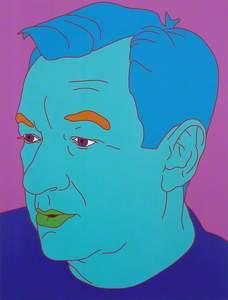 Self Portrait (Aqua)
