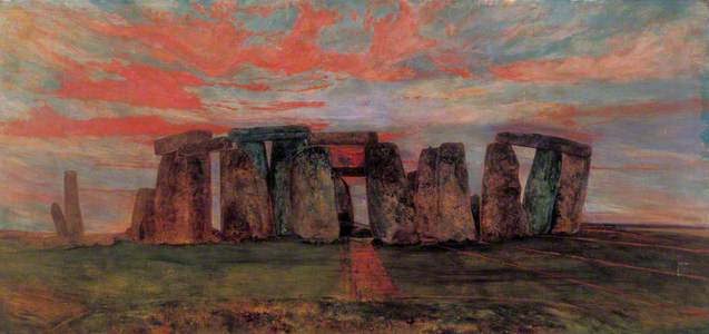 Stonehenge from the East