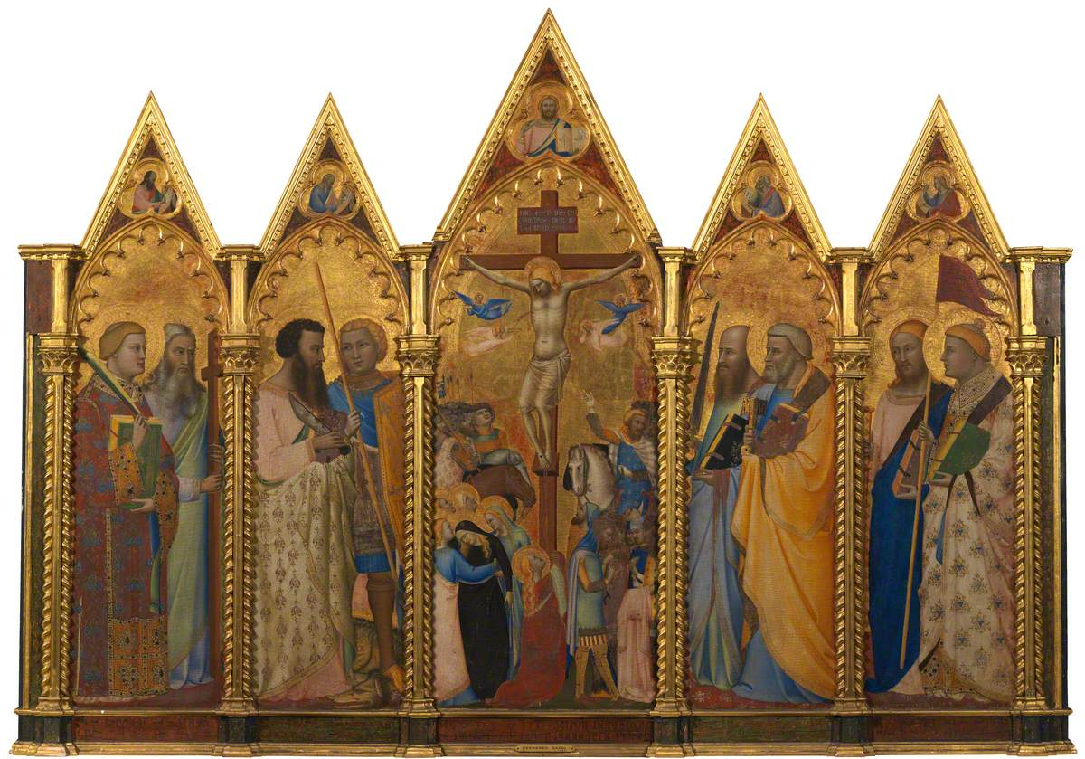 Crucifixion with Saints