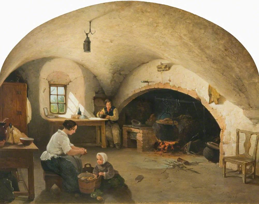 The Kitchen of Barra Castle, Aberdeenshire