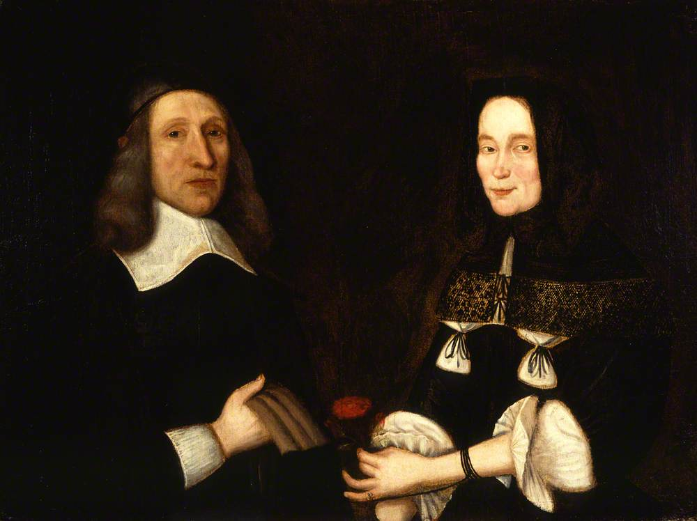 John Alexander and His Wife, Marjory Jamesone