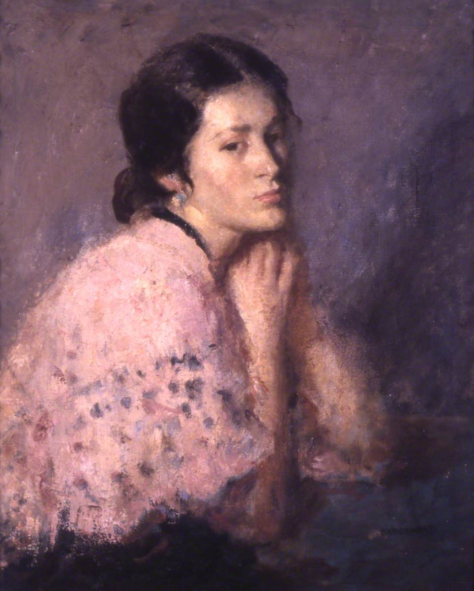 The Pink Shawl