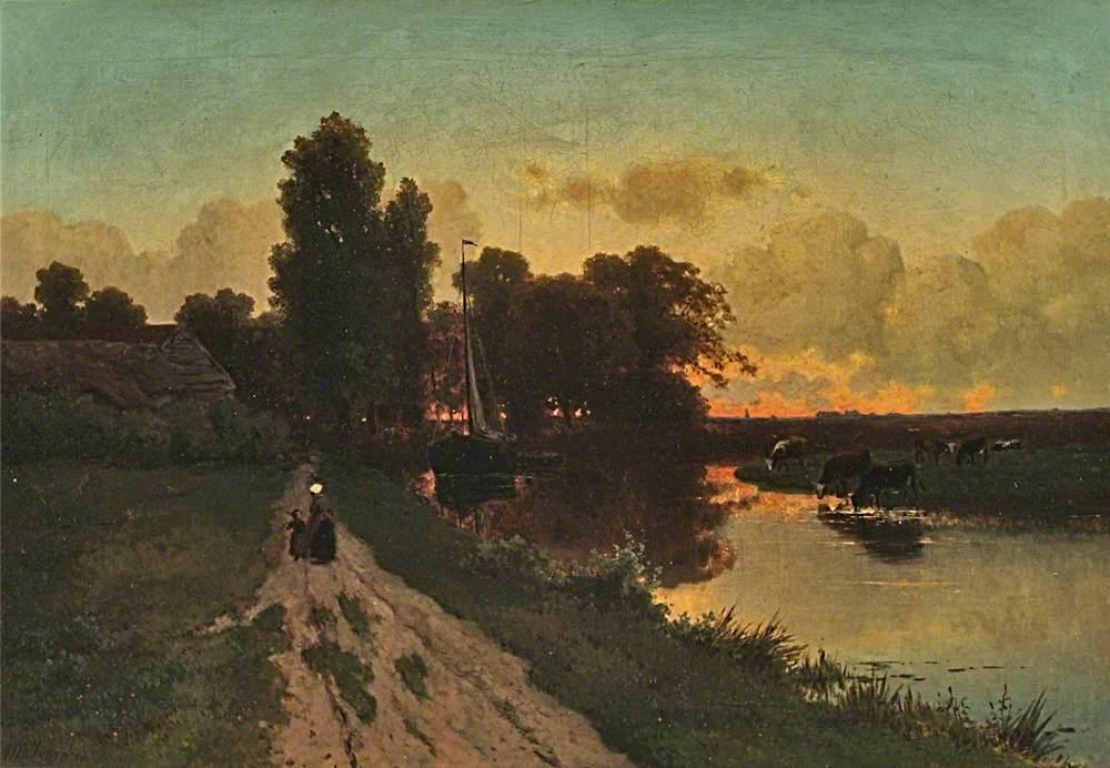 On a Dutch Canal