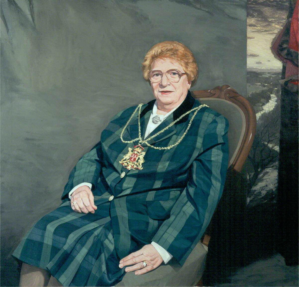 Dr Margaret Farquhar, CBE, Lord Provost of Aberdeen