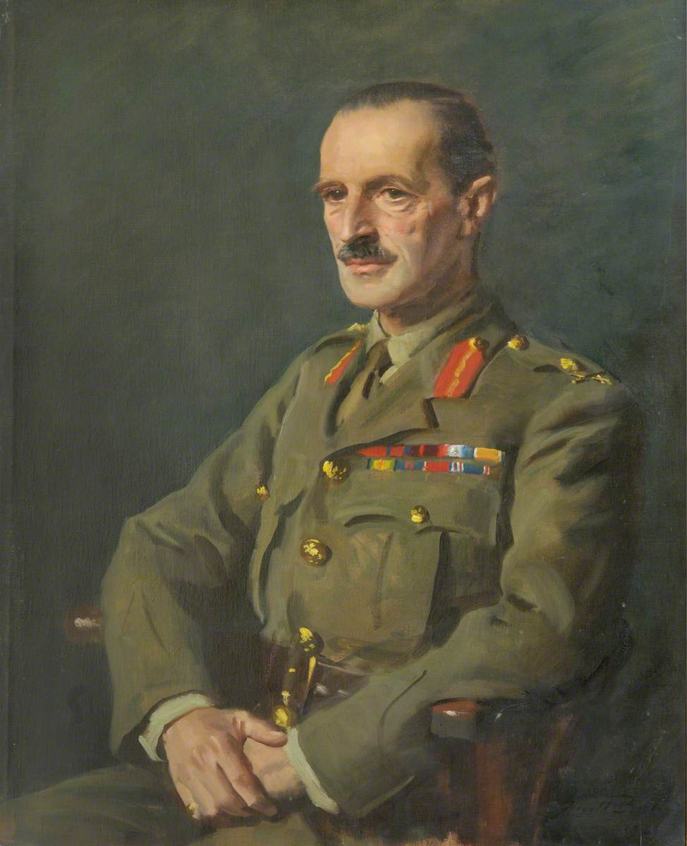 Lieutenant General Laurence Carr (1886–1954), CB, DSO, OBE