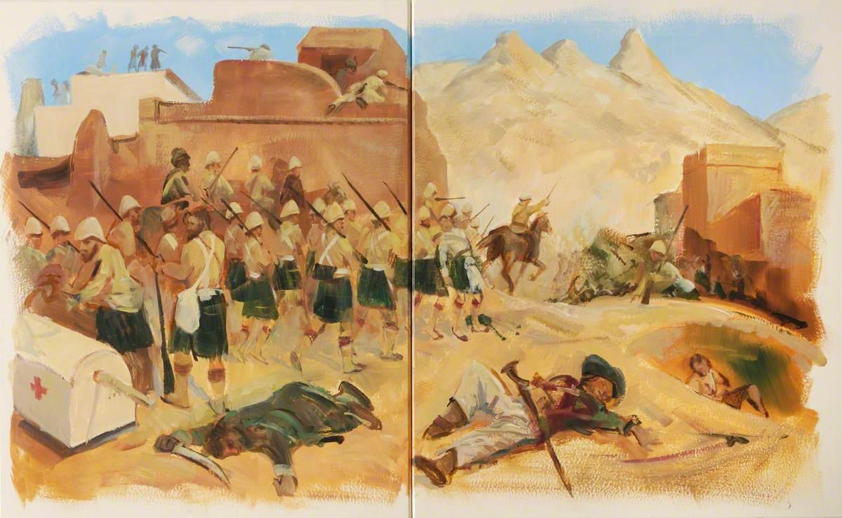 Gordons at Kandahar