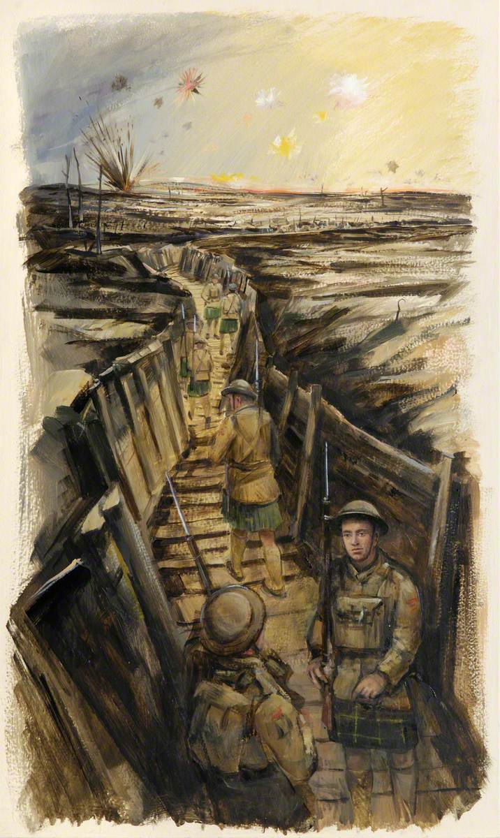 Gordons in the Trenches