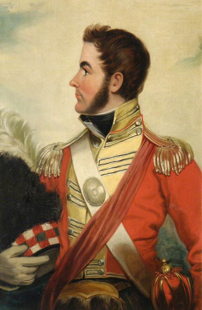 Lieutenant Duncan McPherson (d.1813), 92nd Regiment of Foot