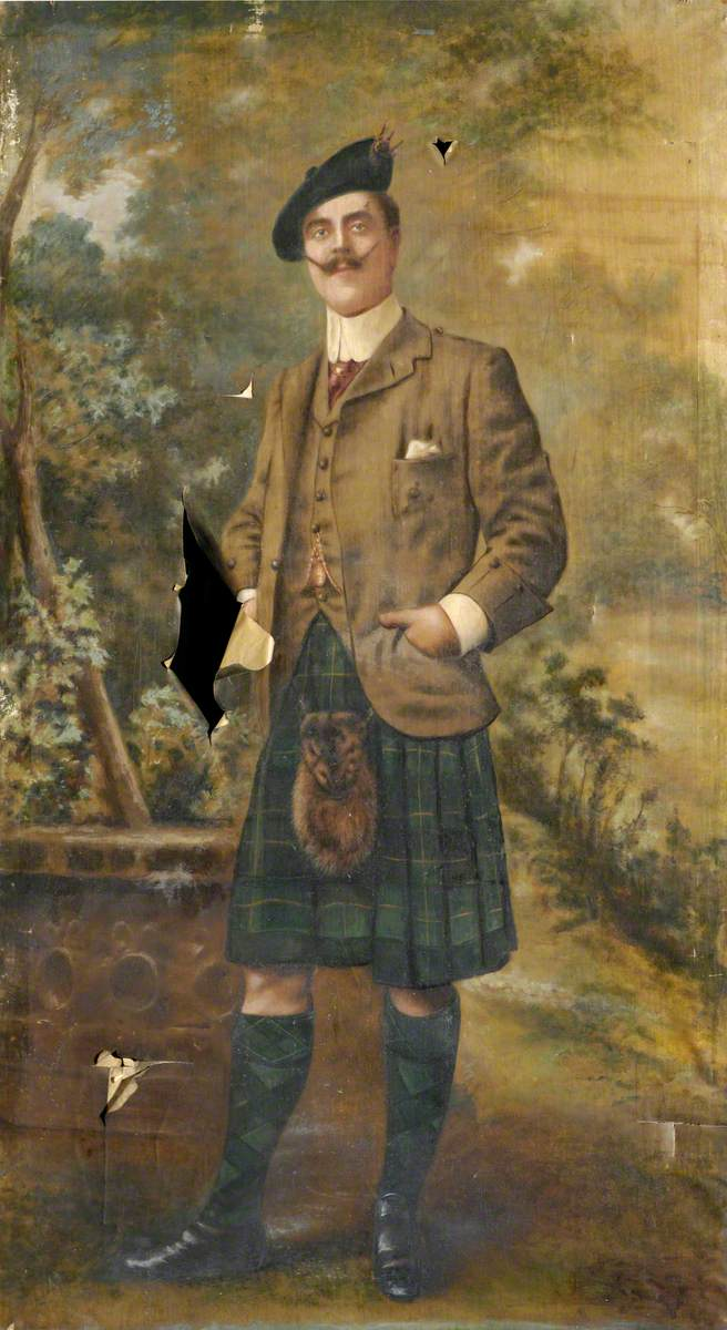 Portrait of a Highland Gentleman