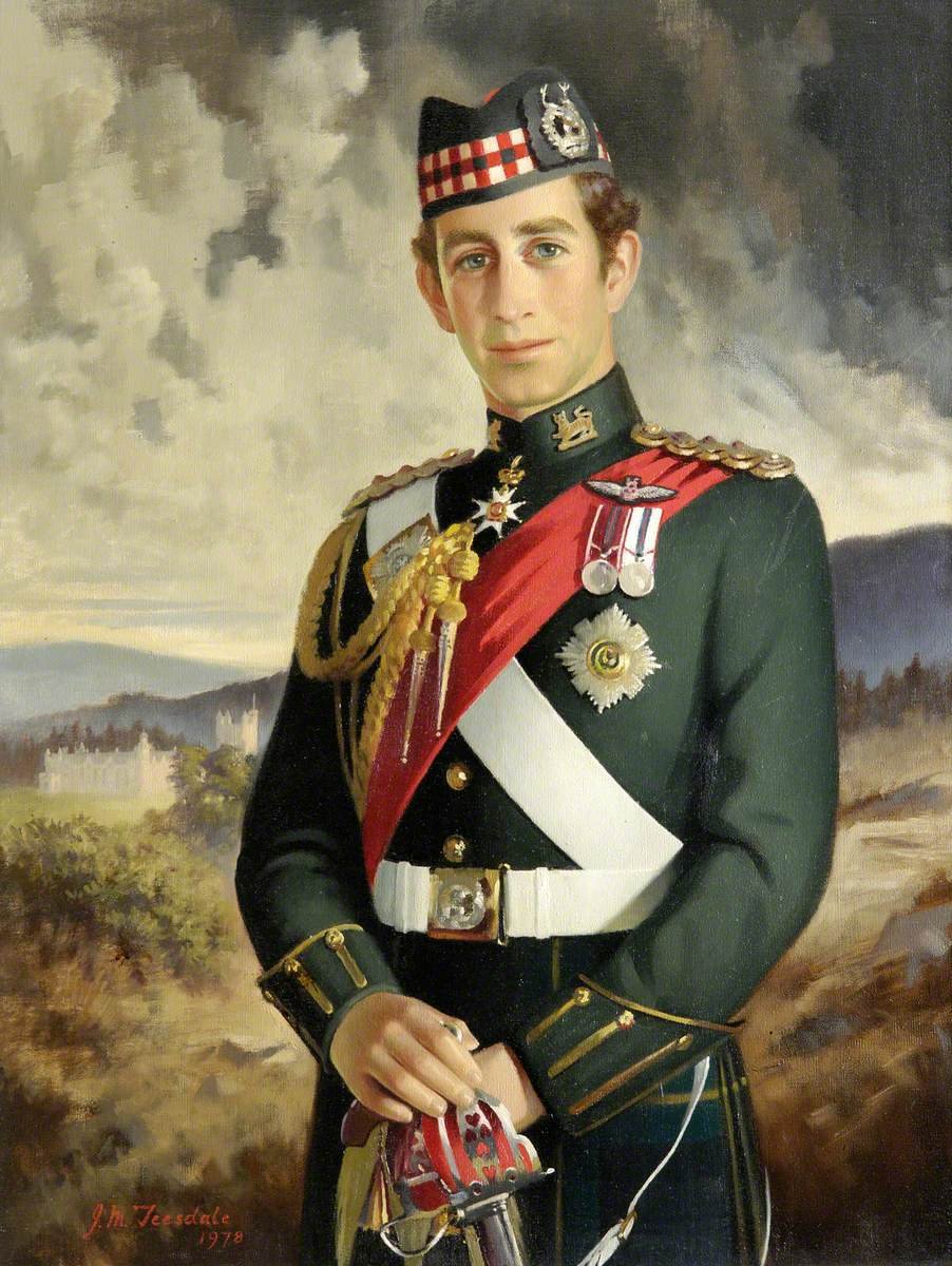 HRH The Prince of Wales (b.1948), Colonel-in-Chief